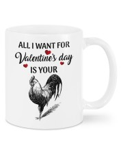 ALL I WANT FOR VALENTINE'S DAY IS YOUR COCK  Mug front