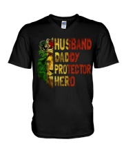 HUSBAND DADDY - MB253 V-Neck T-Shirt thumbnail