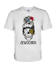 SEWCIOPATH V-Neck T-Shirt thumbnail