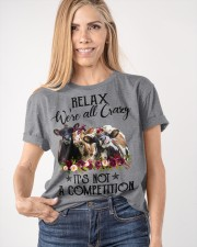RELAX WE'RE ALL CRAZY Classic T-Shirt apparel-classic-tshirt-lifestyle-front-100