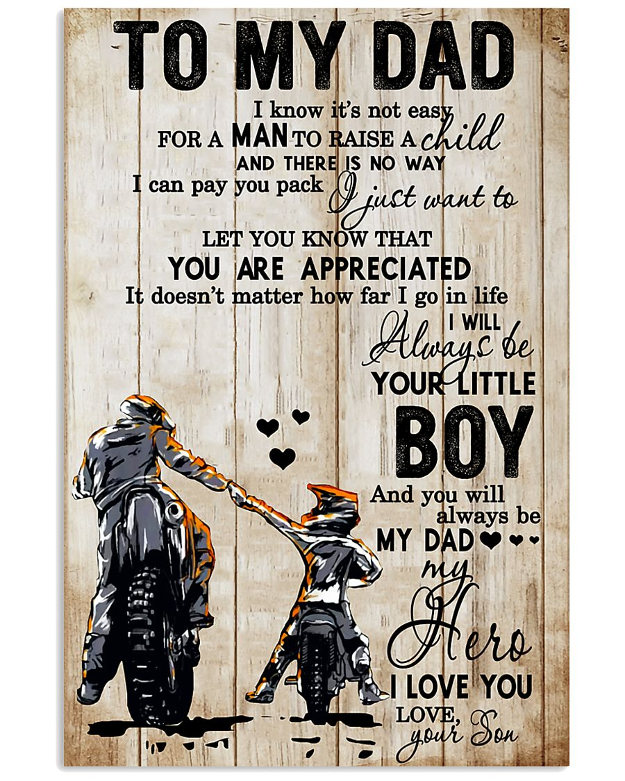 TO MY DAD - MB278 24x36 Poster