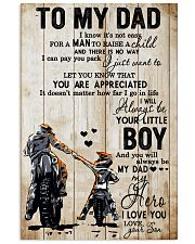 TO MY DAD - MB278 24x36 Poster front
