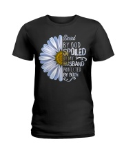 Blessed by god spoiled by my husband  Ladies T-Shirt thumbnail