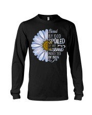 Blessed by god spoiled by my husband  Long Sleeve Tee thumbnail