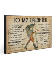 TO MY DAUGHTER  30x20 Gallery Wrapped Canvas Prints front