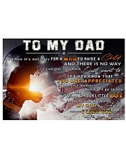 TO MY DAD - mb335 36x24 Poster front