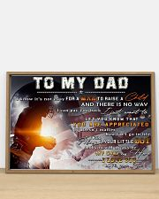 TO MY DAD - mb335 36x24 Poster poster-landscape-36x24-lifestyle-03