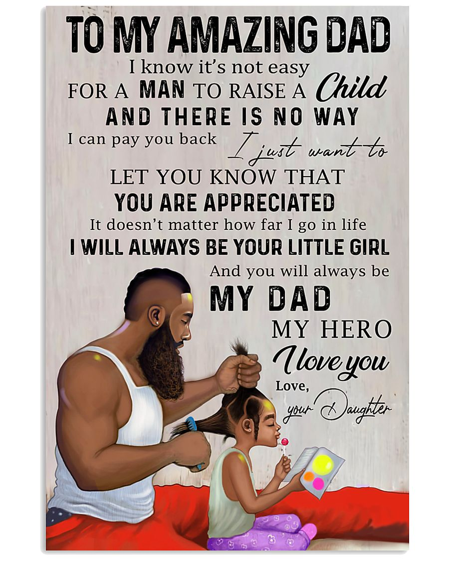 TO MY DAD - MB212 11x17 Poster
