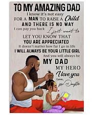 TO MY DAD - MB212 11x17 Poster front