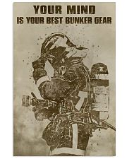 YOUR MIND IS YOUR BEST BUNKER GEAR  Vertical Poster tile