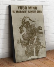 YOUR MIND IS YOUR BEST BUNKER GEAR  20x30 Gallery Wrapped Canvas Prints aos-canvas-pgw-20x30-lifestyle-front-14