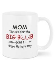 MOM THANKS FOR THE BIG BOOB GENES Mug front