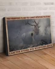 I AM THE STORM  30x20 Gallery Wrapped Canvas Prints aos-canvas-pgw-30x20-lifestyle-front-07