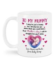 LOVE FROM THE BUMP Mug back