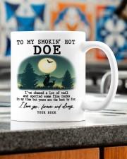 TO MY SMOKIN' HOT DOE Mug ceramic-mug-lifestyle-57