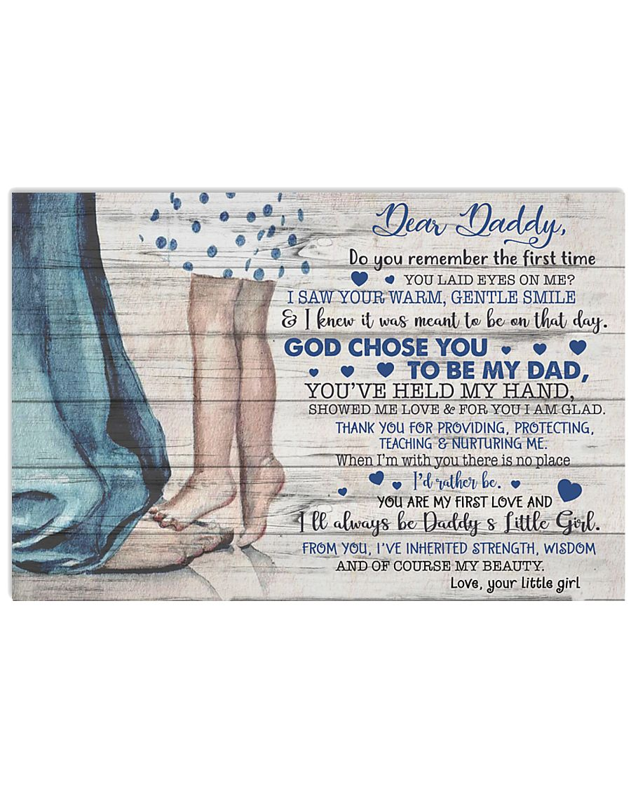 TO MY DAD - MB160 24x16 Poster
