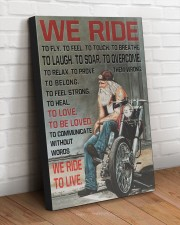 WE RIDE TO LIVE 20x30 Gallery Wrapped Canvas Prints aos-canvas-pgw-20x30-lifestyle-front-14