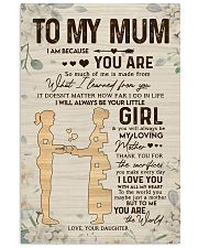 TO MY MUM  24x36 Poster front