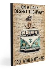 COOL WIND IN MY HAIR  20x30 Gallery Wrapped Canvas Prints front