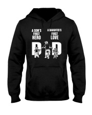A SON'S FIRST HERO A DAUGHTER'S FIRST LOVE   Hooded Sweatshirt thumbnail