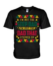 I'M NOT THE STEP DAD - MB54 V-Neck T-Shirt thumbnail