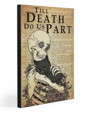 TILL DEATH DO US PART Gallery Wrapped Canvas Prints tile