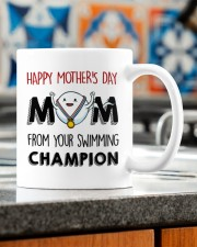 FROM YOUR SWIMMING CHAMPION Mug ceramic-mug-lifestyle-57
