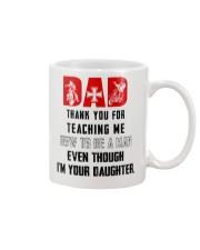 HOW TO BE A MAN - BIKER Mug front