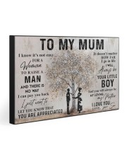 TO MY MUM  30x20 Gallery Wrapped Canvas Prints front