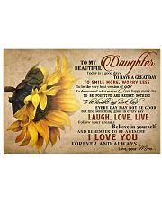 TO MY DAUGHTER - MB364 Horizontal Poster tile