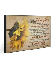 TO MY DAUGHTER - MB364 30x20 Gallery Wrapped Canvas Prints front
