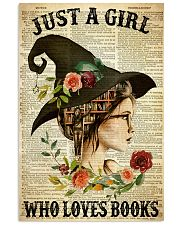 JUST A GIRL WHO LOVES BOOKS  11x17 Poster thumbnail