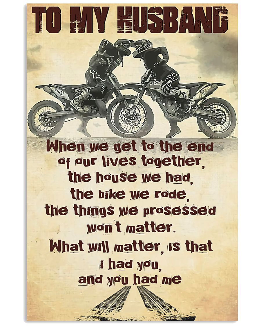 TO MY HUSBAND - MB293 16x24 Poster