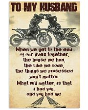 TO MY HUSBAND - MB293 16x24 Poster front