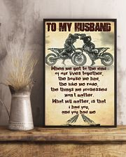 TO MY HUSBAND - MB293 16x24 Poster lifestyle-poster-3