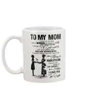 TO MY MOM - NURSE Mug back