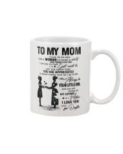 TO MY MOM - NURSE Mug front