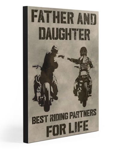 FATHER AND DAUGHTER RIDING PARTNERS FOR LIFE