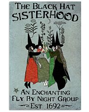 THE BLACK HAT SISTERHOOD Vertical Poster tile
