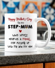 HAPPY MOTHER'S DAY TO MY STEPMUM Mug ceramic-mug-lifestyle-57