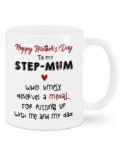 HAPPY MOTHER'S DAY TO MY STEPMUM Mug front