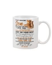 TO MY AMAZING SON Mug front