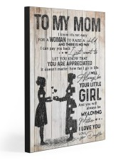 TO MY MOM - 70T11 20x30 Gallery Wrapped Canvas Prints front