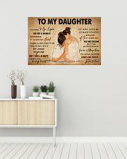 TO MY DAUGHTER 36x24 Poster poster-landscape-36x24-lifestyle-01