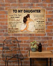 TO MY DAUGHTER 36x24 Poster poster-landscape-36x24-lifestyle-20
