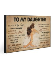 TO MY DAUGHTER 30x20 Gallery Wrapped Canvas Prints thumbnail