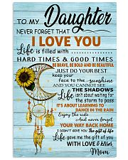 TO MY DAUGHTER - MB366 Vertical Poster tile