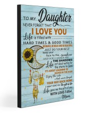 TO MY DAUGHTER - MB366 20x30 Gallery Wrapped Canvas Prints front