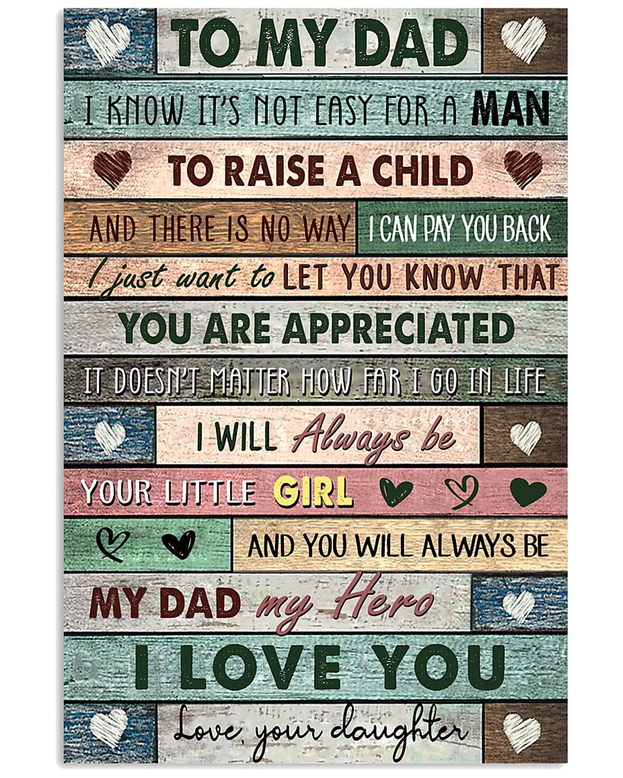 TO MY DAD - MB250 11x17 Poster