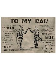TO MY DAD - MB308 36x24 Poster front